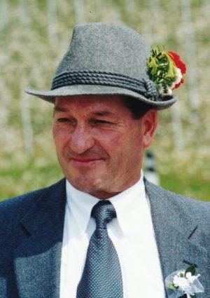 Portrait von Hubert Bauer, Lengstein