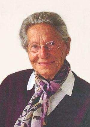 Portrait von Erna Rottensteiner geb. Wenter, Klobenstein