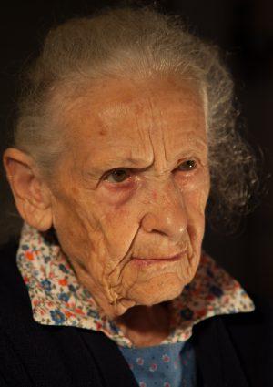 Portrait von Martha Wwe. Bernard geb. Tribus