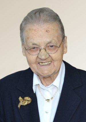Portrait von Marianne Wwe. Mair geb. Baumgartner, Signat