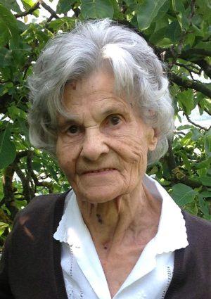 Portrait von Maria Oberrauch Wwe. Prinoth, Signat