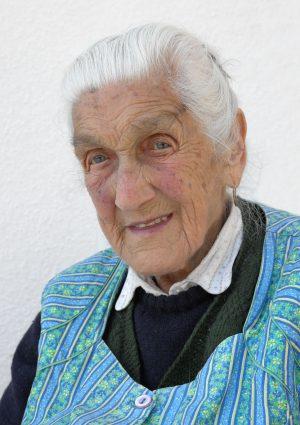 Portrait von Franziska Wwe. Mur geb. Steiner, Klobenstein