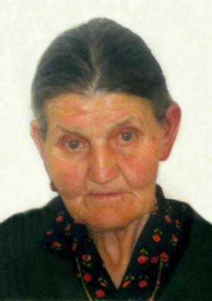 Portrait von Martha Schweigkofler, Klobenstein