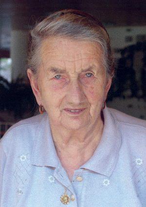 Portrait von Rosa Wwe. Ramoser geb. Stauder, Unterinn