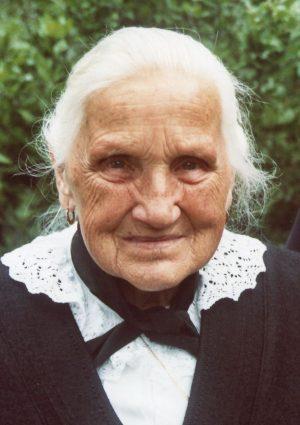 Portrait von Theresia Wwe. Leiter geb. Tammerle, Wangen